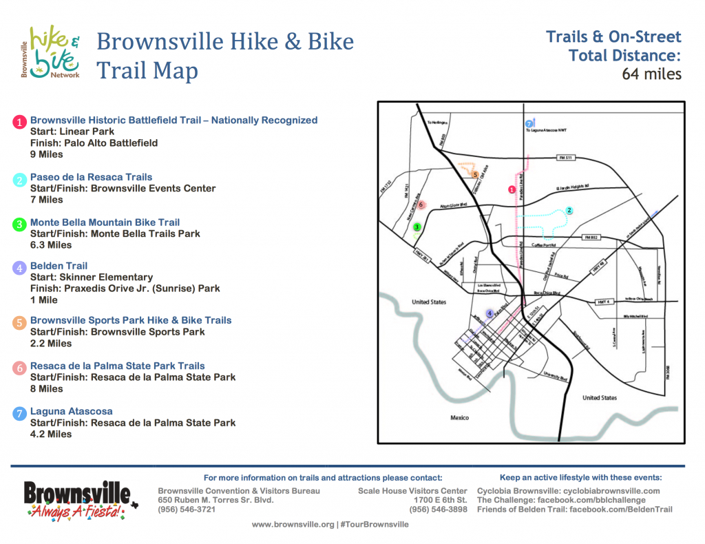 Maps & Guides - Brownsville Convention & Visitors Bureau - Map Of Brownsville Texas Area