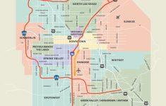 Las Vegas Printable Map