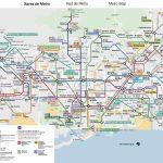 Maps Mapa Del Metro De Barcelona | Sverigekarta   Metro Map Barcelona Printable
