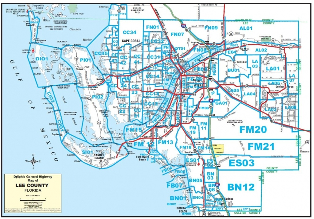Maps - North Fort Myers Florida Map