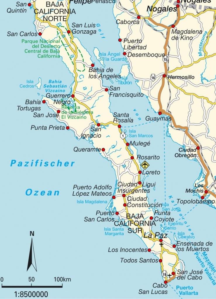 Maps Of Baja California Mexico   California Map 2018 In Map Of Baja - Map Of Baja California Mexico