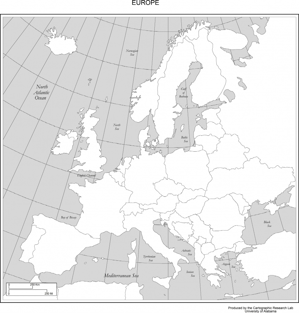 Maps Of Europe - Europe Map Puzzle Printable