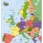 Maps Of Europe | Map Of Europe In English | Political   Printable Map Of Europe With Major Cities