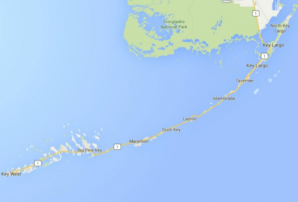 Maps Of Florida: Orlando, Tampa, Miami, Keys, And More - Map Of Florida Keys Hotels