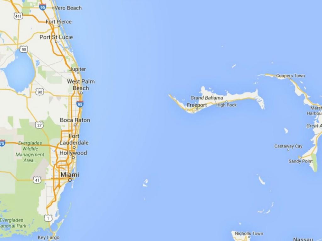 Maps Of Florida: Orlando, Tampa, Miami, Keys, And More - Miami Florida Map