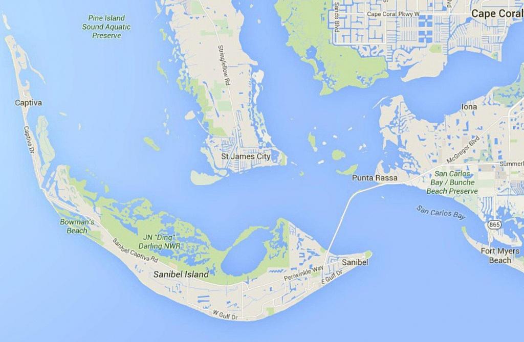 Maps Of Florida: Orlando, Tampa, Miami, Keys, And More - Road Map Of Sanibel Island Florida