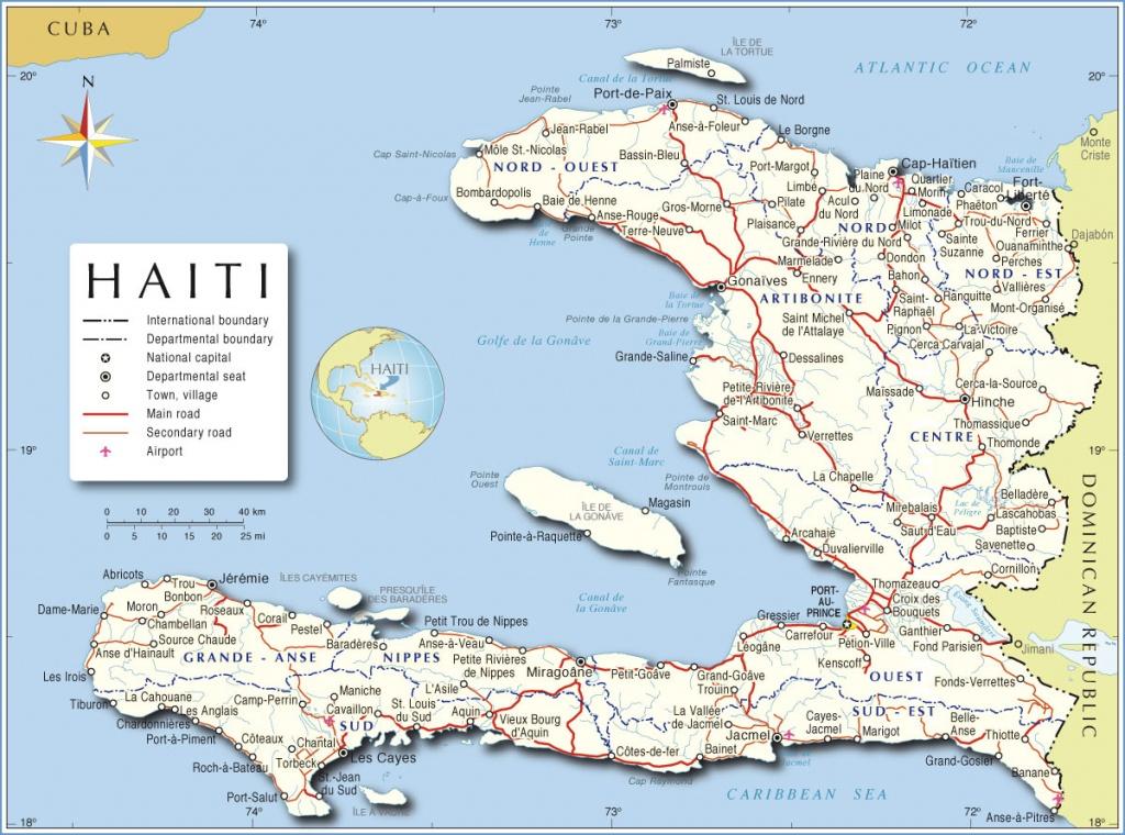Maps Of Haiti | Bizbilla - Printable Map Of Haiti