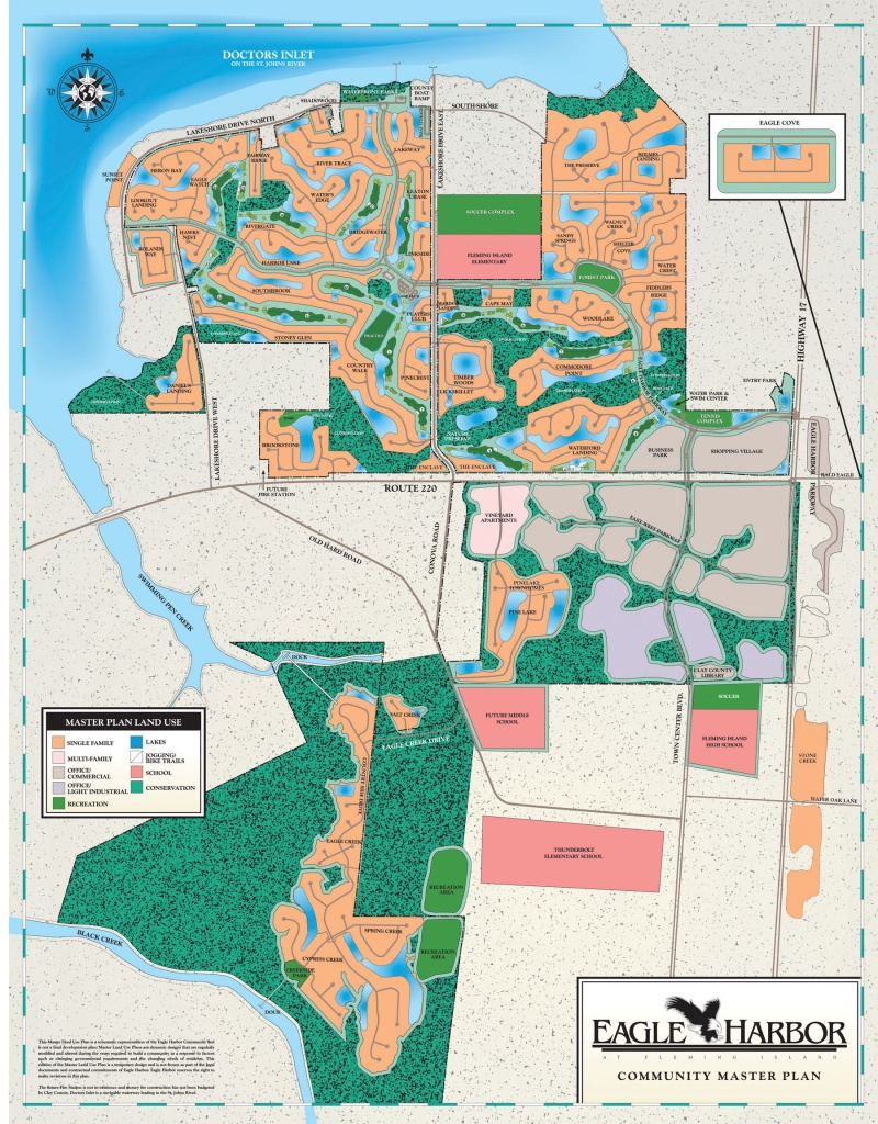 Maps Of Jacksonville, Orange Park, And Fleming Island - Fleming Island Florida Map