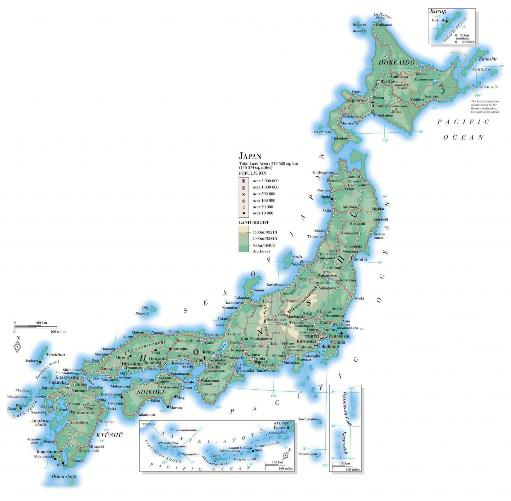 Maps Of Japan | Detailed Map Of Japan In English | Tourist Map Of - Large Printable Map Of Japan