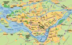 Printable Map Of Montreal