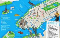 Manhattan Map With Attractions Printable