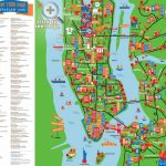 Maps Of New York Top Tourist Attractions   Free, Printable   New York Printable Map Pdf