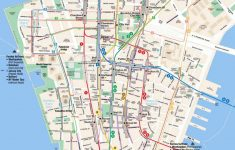 Printable New York Street Map