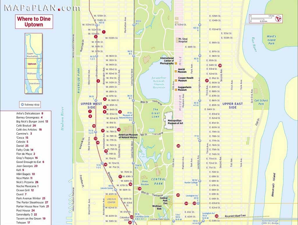 Maps Of New York Top Tourist Attractions Free Printable With Map Nyc - Manhattan Road Map Printable