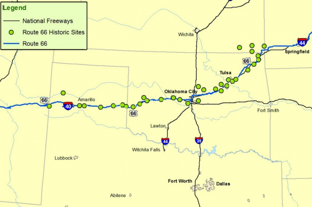Maps Of Route 66: Plan Your Road Trip - Historic Route 66 California Map