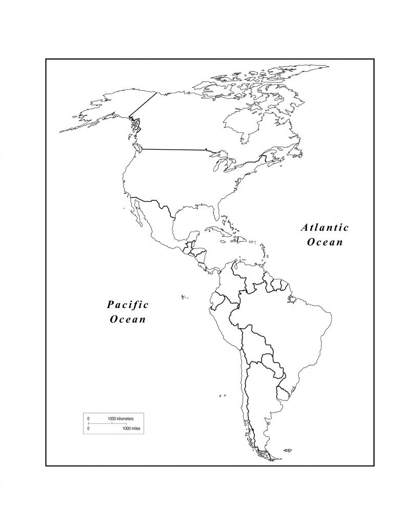 Maps Of The Americas Page 2 Within Blank Map Of The Americas - Eastern Hemisphere Map Printable