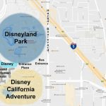 Maps Of The Disneyland Resort   Best Western Locations California Map
