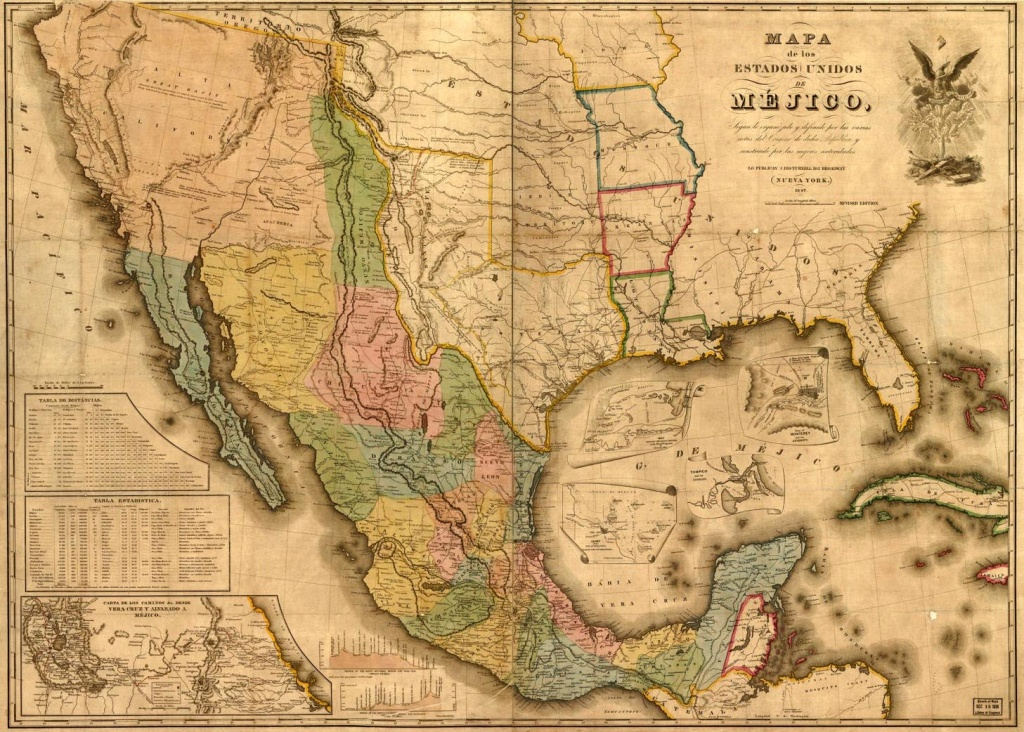 Maps Of The Republic Of Texas - Texas Civil War Map