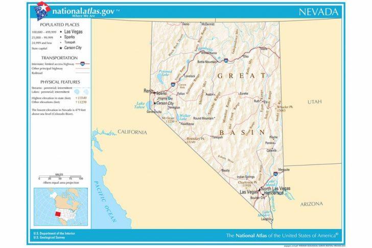 California Nevada Arizona Map