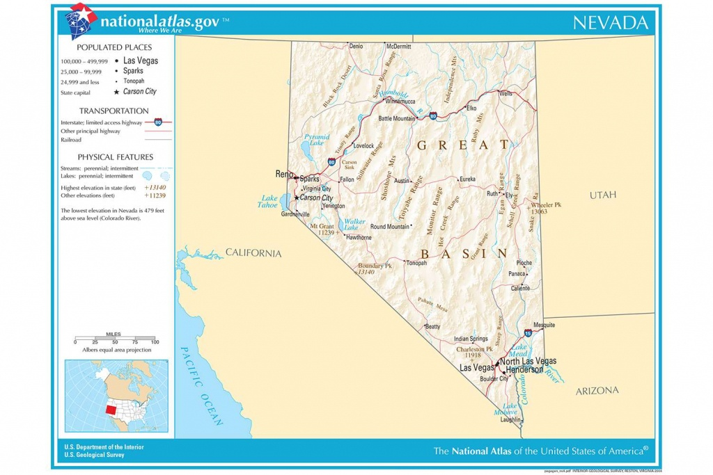 Maps Of The Southwestern Us For Trip Planning - California Nevada Arizona Map