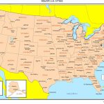 Maps Of The United States   Printable State Maps With Cities