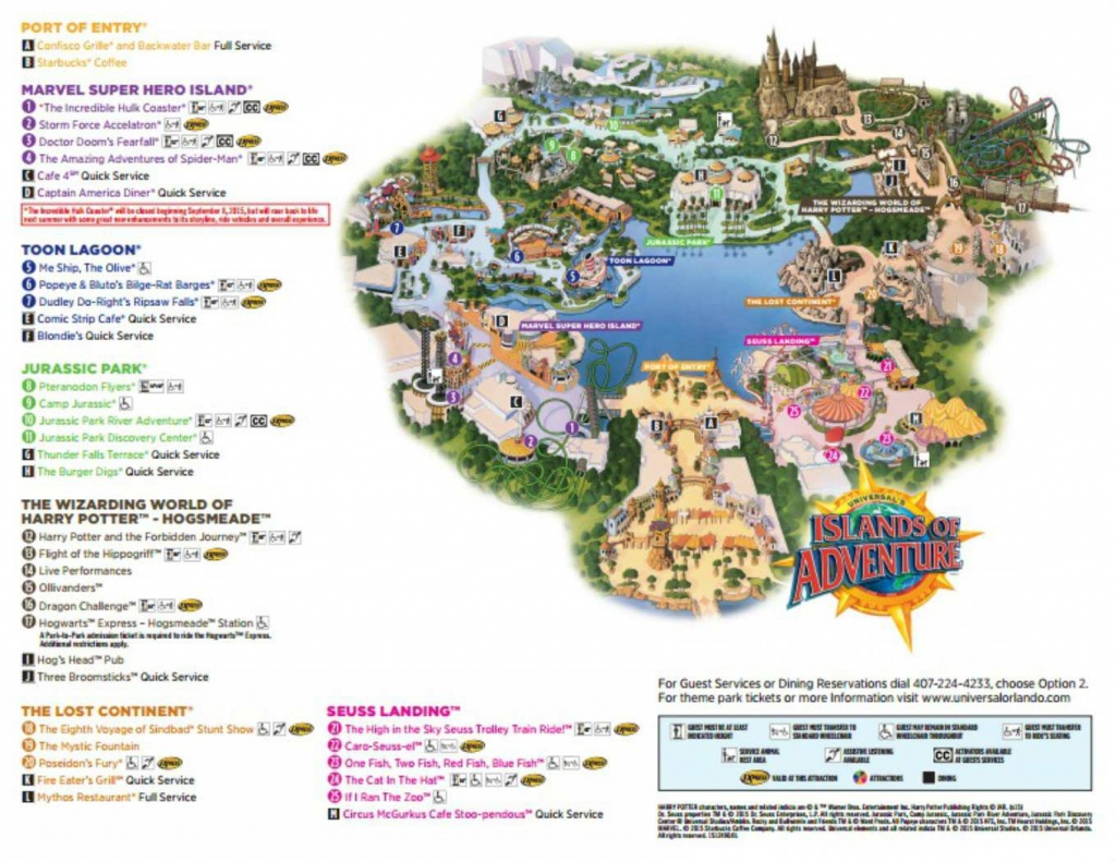 Maps Of Universal Orlando Resort's Parks And Hotels - Orlando Florida Theme Parks Map