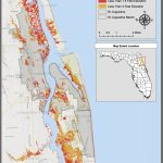 Maps | Planning For Sea Level Rise In The Matanzas Basin   Florida Land Elevation Map