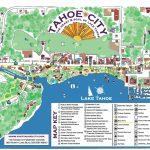 Maps   Tahoe City Downtown Association   Tahoe City California Map