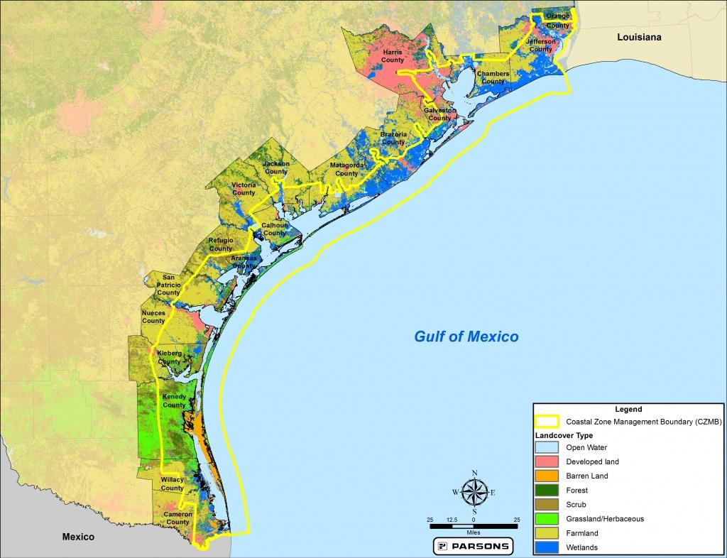 Maps | Texas Coastal Best Management Practices - Map Coastal Texas