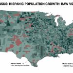 Maps Visualize U.s. Population Growthcounty | The Texas Tribune   Texas Population Heat Map