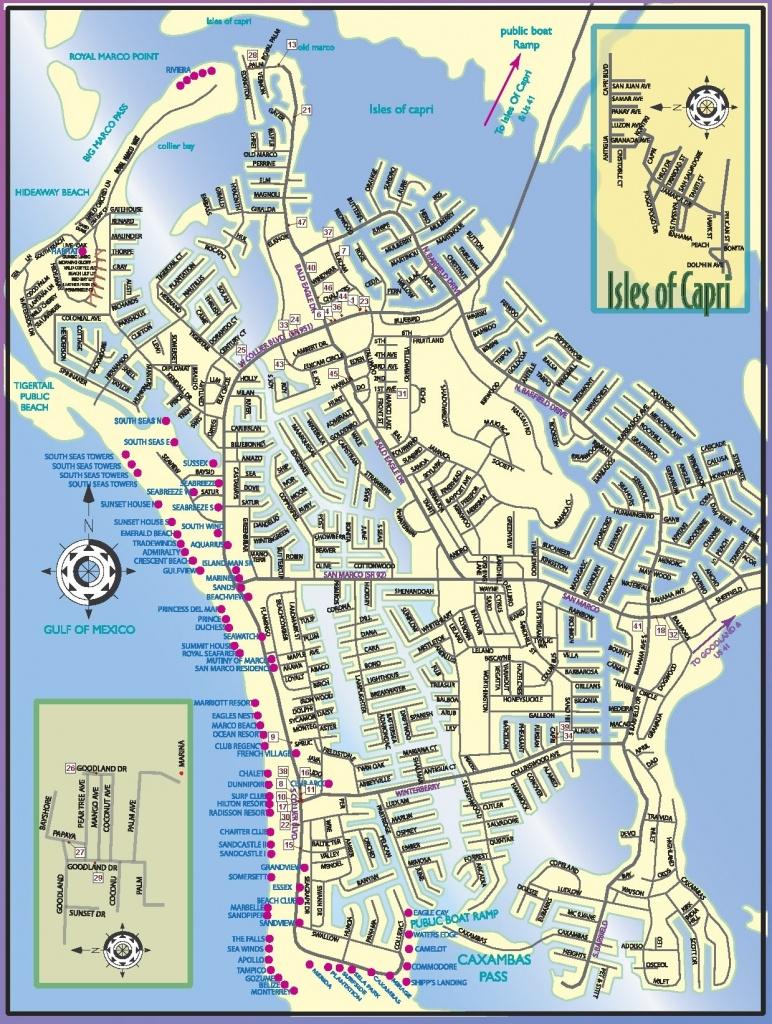 Marco Island Map | Ageorgio - Marco Island Florida Map