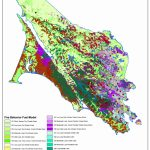 Marin County Vegetation Fuel Model, Wildfire Modeling   Marin County California Map