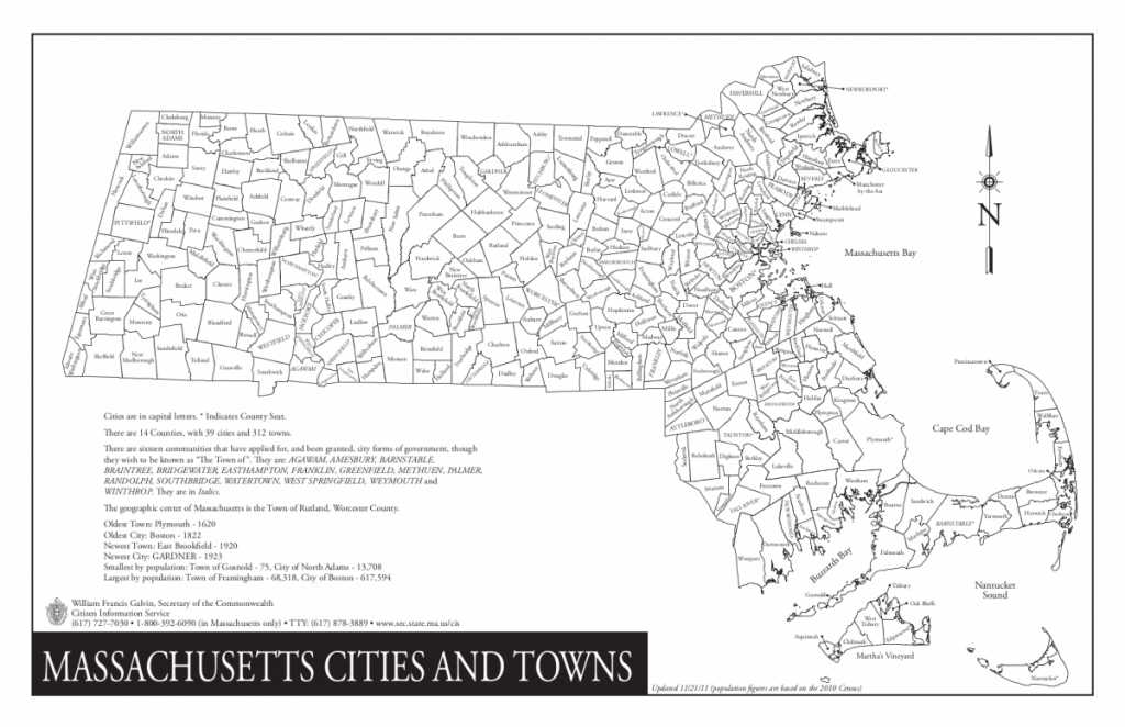 Massachusetts/cities And Towns - Wazeopedia - Printable Map Of Massachusetts Towns