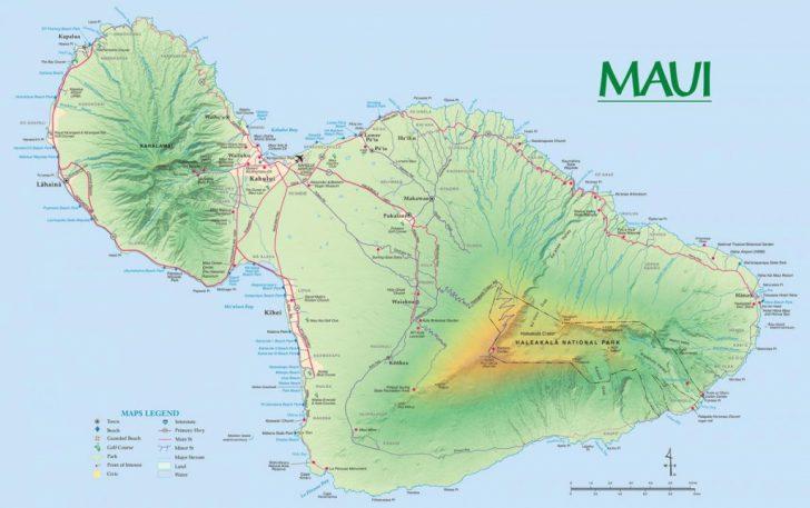 Printable Map Of Kauai