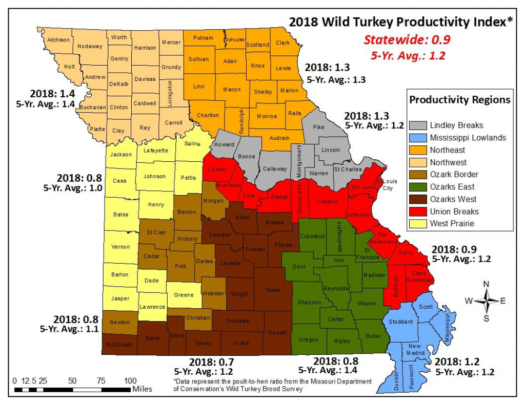 Mdc Predicts Fall Turkey Hunting Likely To Be Challenging | Missouri - Texas Parks And Wildlife Public Hunting Lands Map Booklet