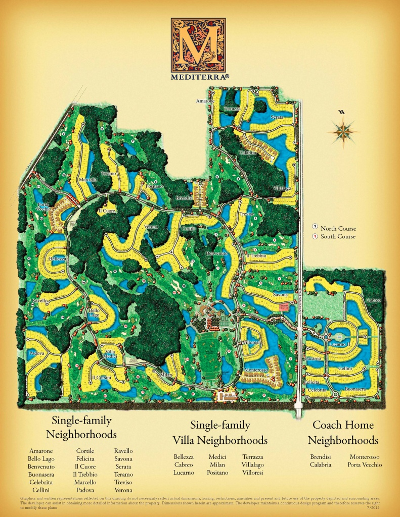 Mediterra Naples Florida Homes For Sale - Golf Courses In Naples Florida Map