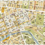 Melbourne Central District Tourist Map Australia City 3 – World Wide – Melbourne Cbd Map Printable