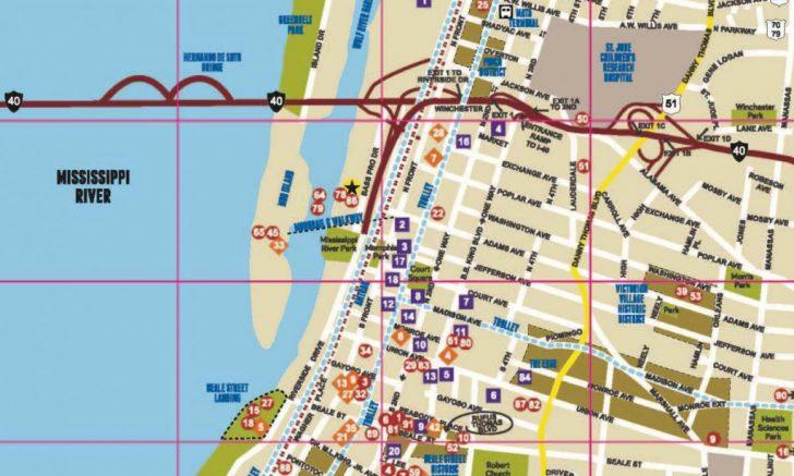 Memphis City Map Printable