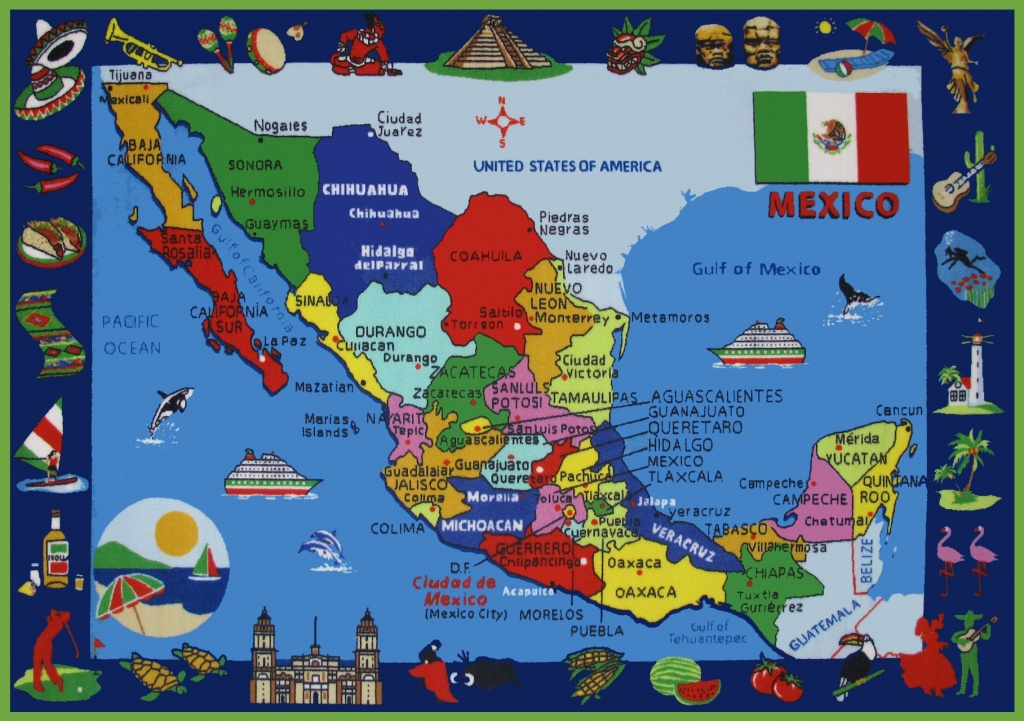 Mexico Maps   Maps Of United Mexican States - Free Printable Map Of Mexico