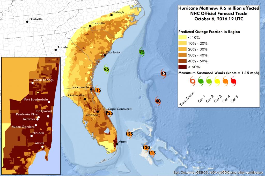 Miami Power Outage Map | Fysiotherapieamstelstreek - Florida Power Outage Map