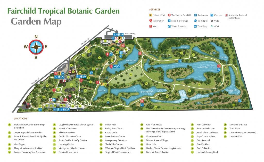 Miami's Tropical Paradise: Fairchild Tropical Gardens - Hami In Miami - Florida Botanical Gardens Map