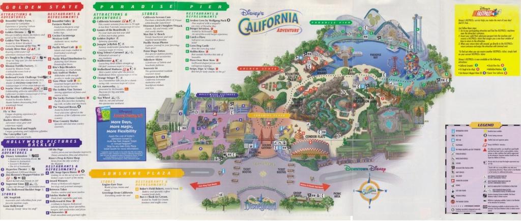 Micechat - Disneyland Resort, Features - Editorial: Mission Breakout - California Adventure Map 2017