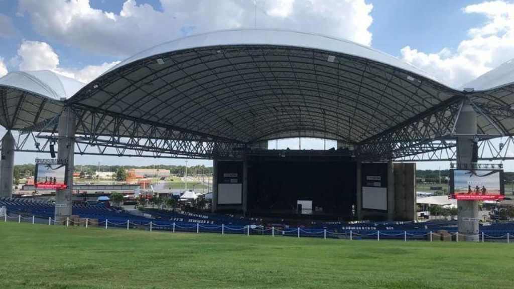 Midflorida Credit Union Amphitheatre Is Getting An Upgrade This Summer - Mid Florida Credit Union Amphitheater Parking Map