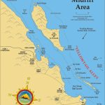 Midriff Islands Fishing Map   California Fishing Map