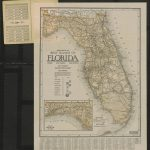 Mileage Map Of The Best Roads Of Florida Showing State Highways Road   State Of Florida Map Mileage
