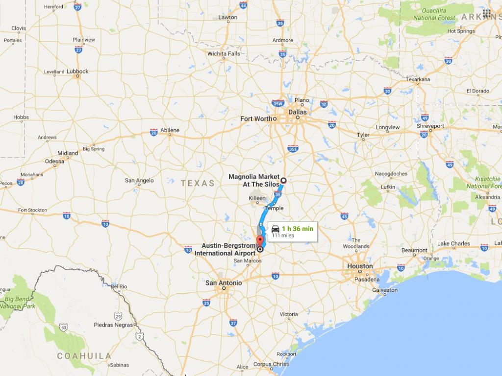 Millions Of Tourists Are Flocking To Waco, Texas, To See 'fixer - Google Maps Waco Texas