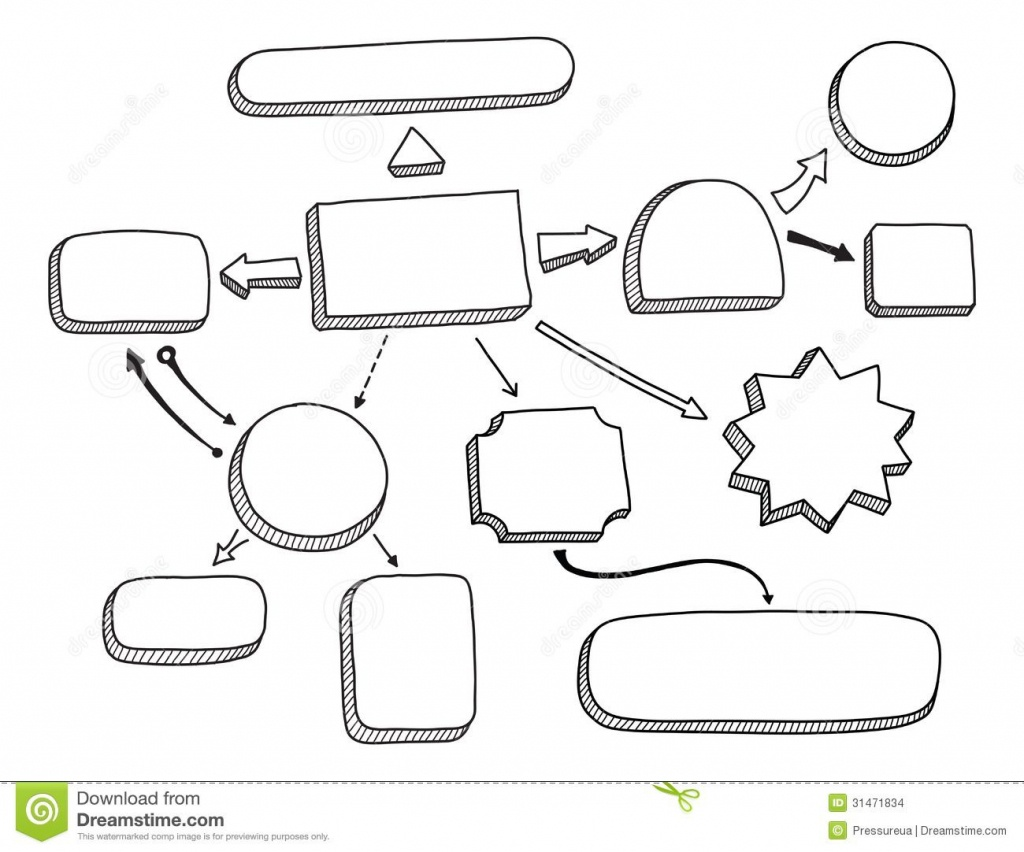 Mind Map Blank Template Mind Map Blank Template Mind   English - Blank Mind Map Template Printable