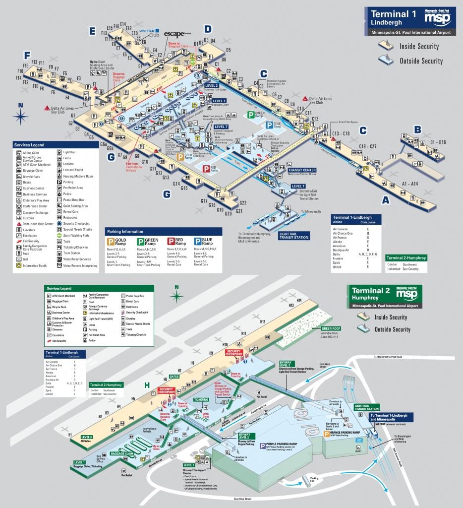 Minneapolis Maps   Minnesota, U.s.   Maps Of Minneapolis - Minneapolis Skyway Map Printable