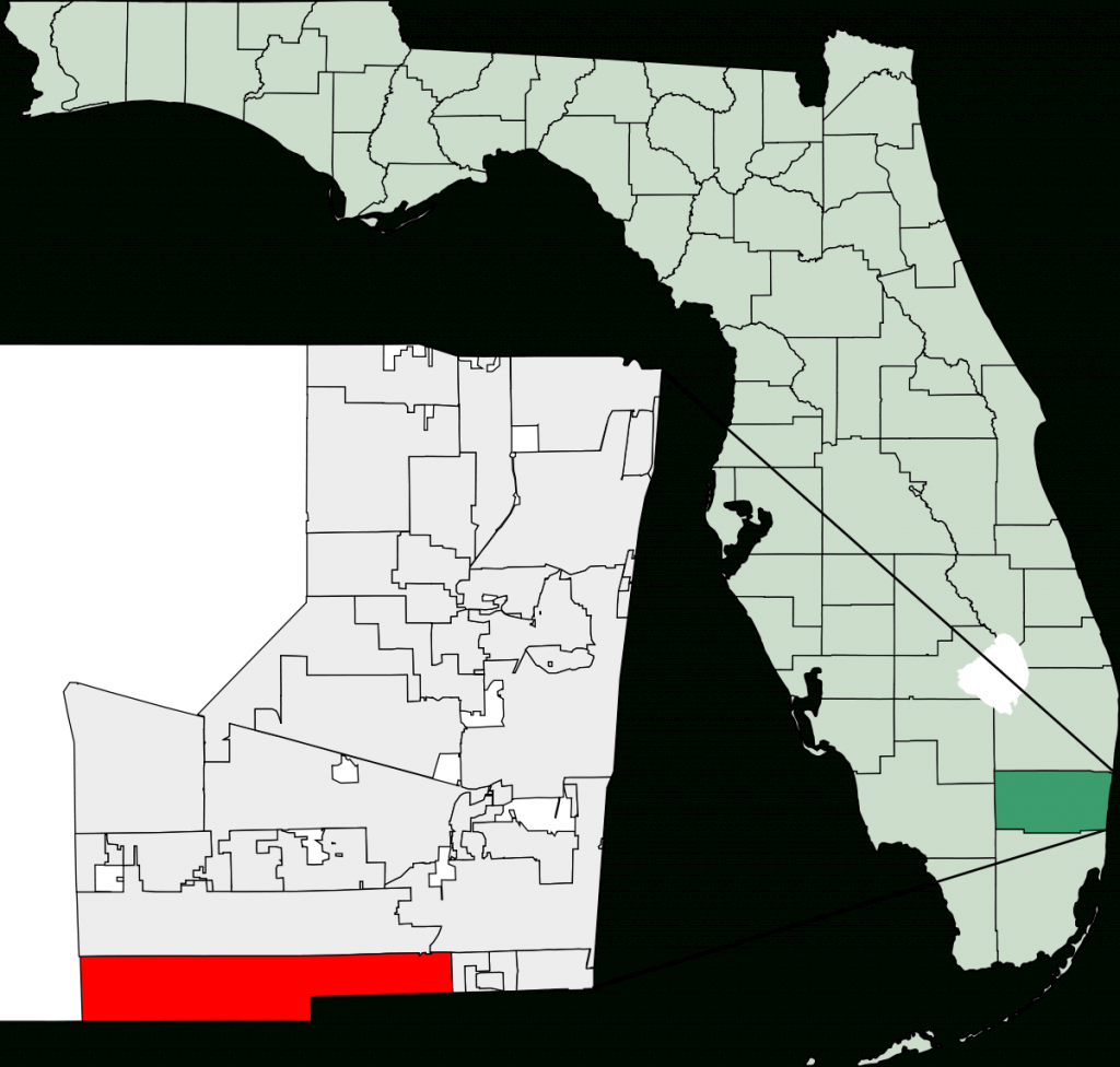 Miramar, Florida - Wikipedia - Belle Glade Florida Map