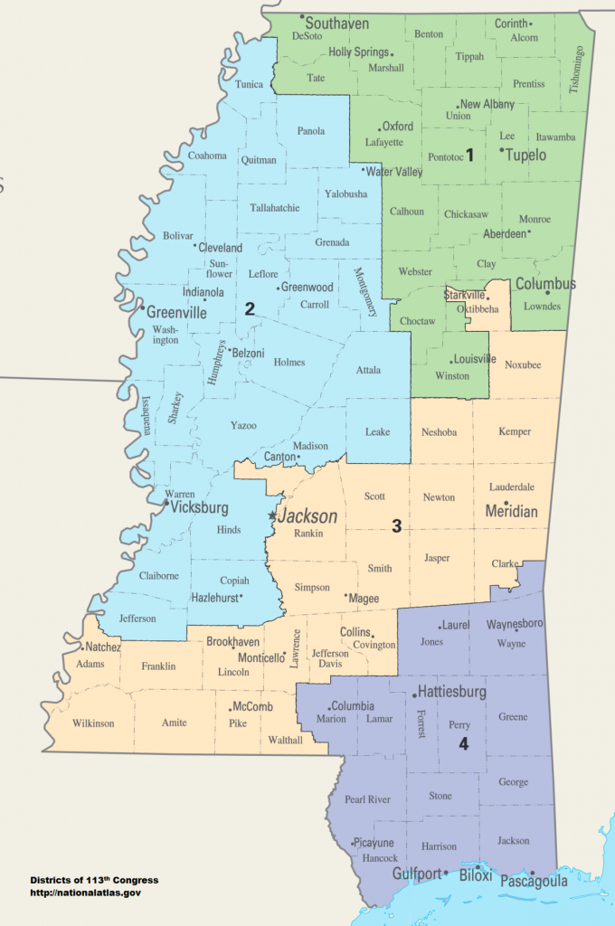 Mississippi's Congressional Districts - Wikipedia - Texas 2Nd Congressional District Map